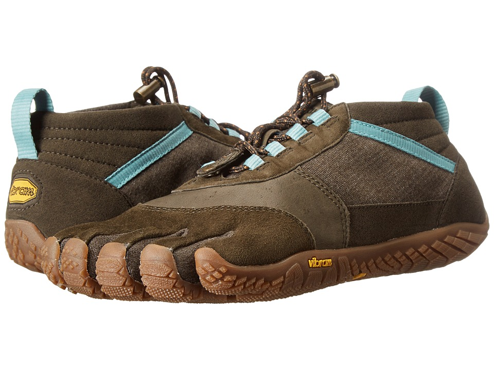Vibram FiveFingers Trek Ascent LR (Caramel/Brown/Green) Women