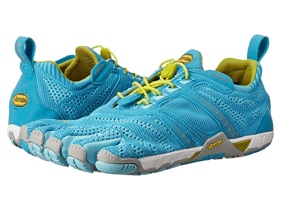 Vibram FiveFingers - KMD EVO (Light Blue/Grey/Yellow) Women's Shoes