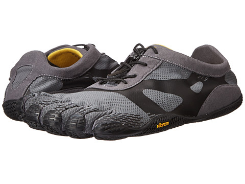 Vibram FiveFingers - KSO EVO (Grey/Black) Men's Running Shoes