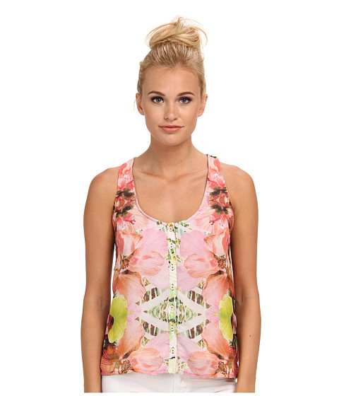 KAS New York - Ava Top (Exlopsive Floral Print) Women