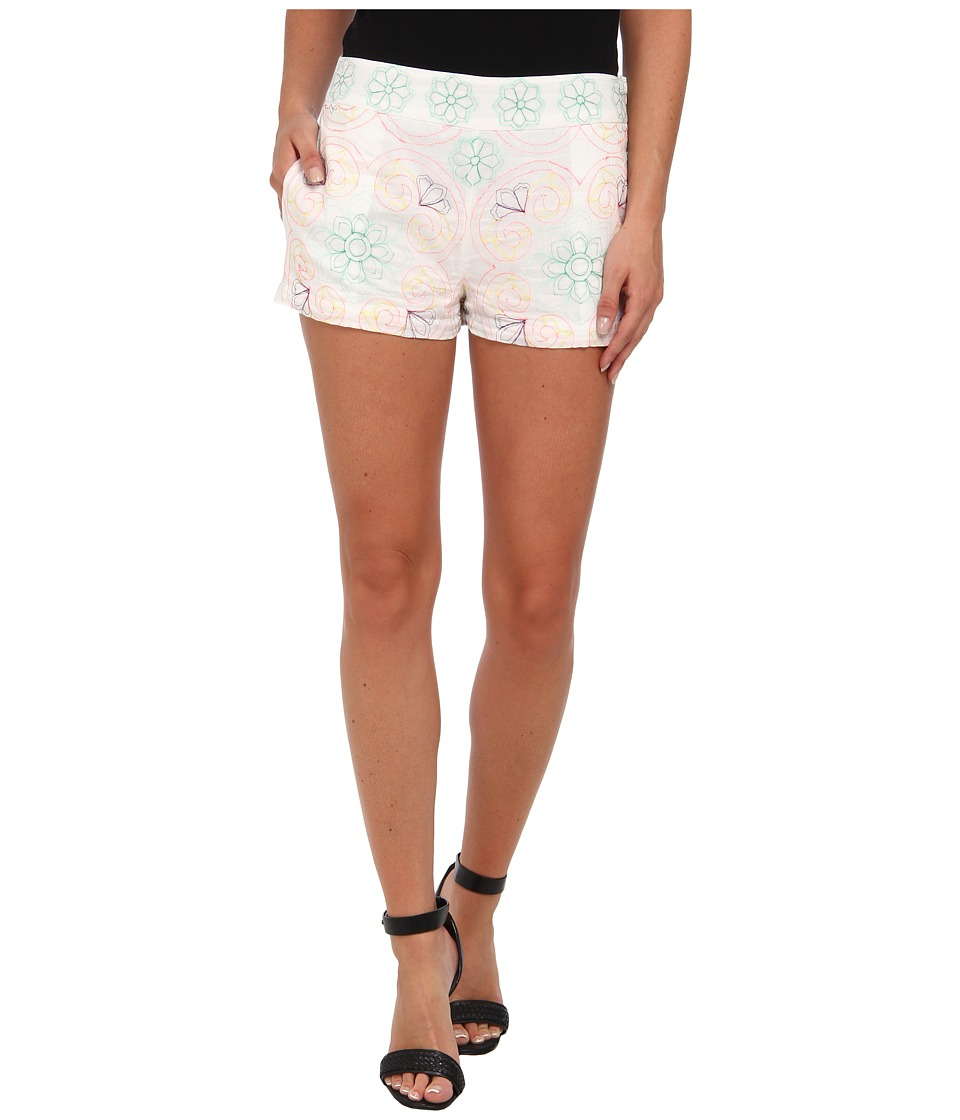 KAS New York - Rana Embroidered Short (White) Women