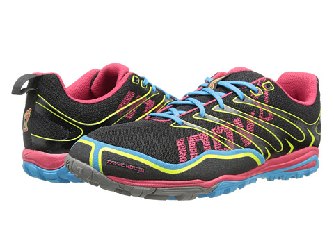 inov-8 - Trailroc 255 (Black/Pink/Blue) Women's Running Shoes