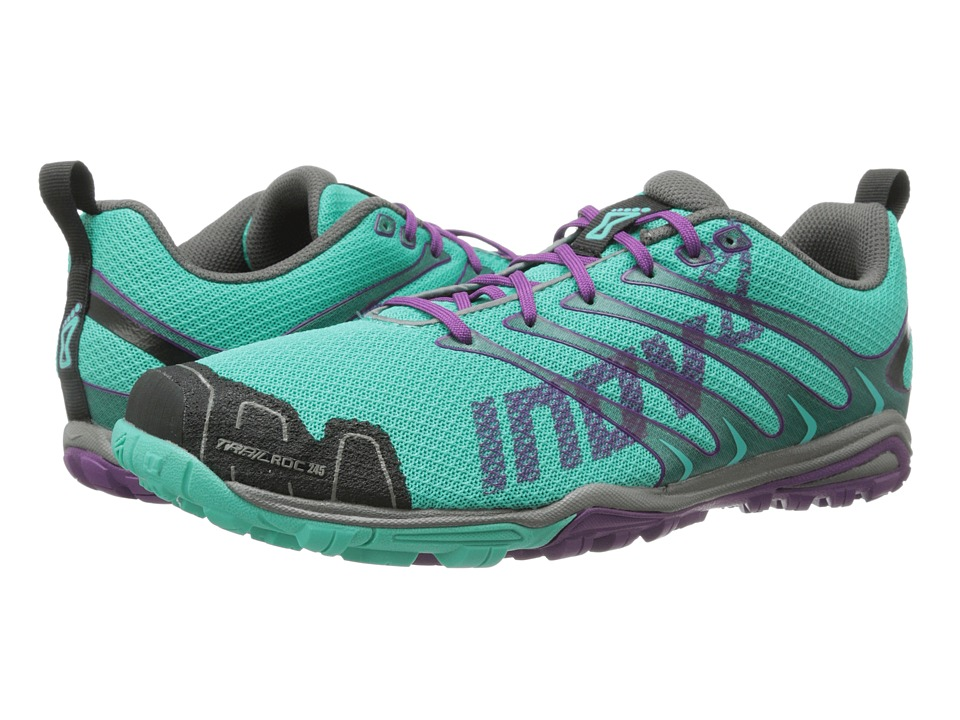 inov-8 - Trailroc 245 (Teal/Grape) Women's Running Shoes