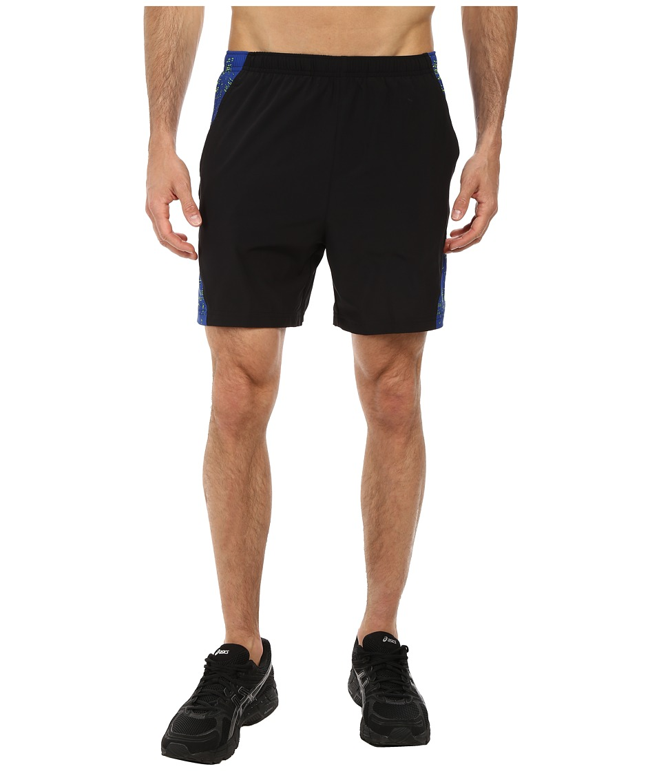 ASICS - 2-N-1 Woven Short 6 (Safety Yellow) Men's Shorts