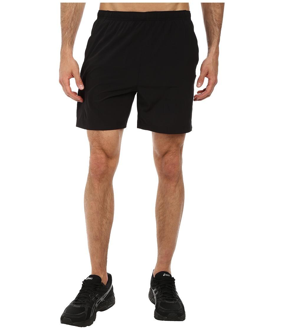 ASICS - 2-N-1 Woven Short 6 (Balance Black) Men's Shorts