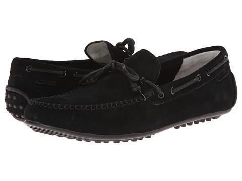 Cole Haan - Grant Escape (Black Suede) Men's Slip on Shoes