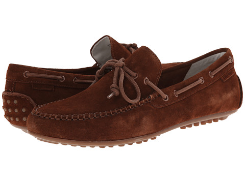 Cole Haan - Grant Escape (Brown Suede) Men's Slip on Shoes