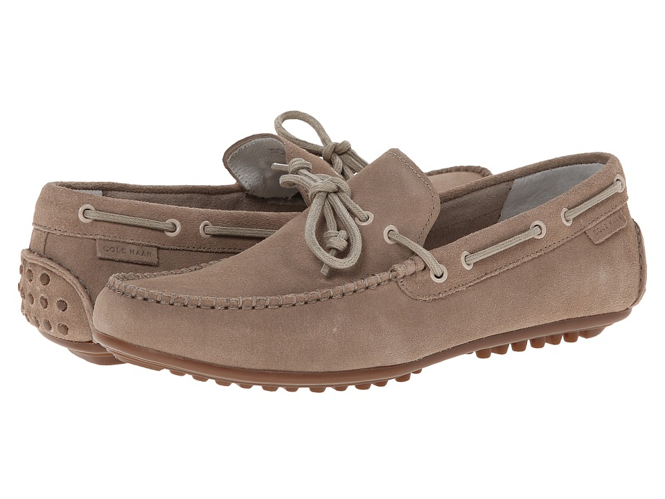 Cole Haan - Grant Escape (Taupe Suede) Men's Slip on Shoes