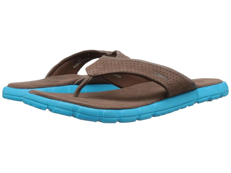 Speedo - Upshifter (Brown/Blue) Men's Sandals