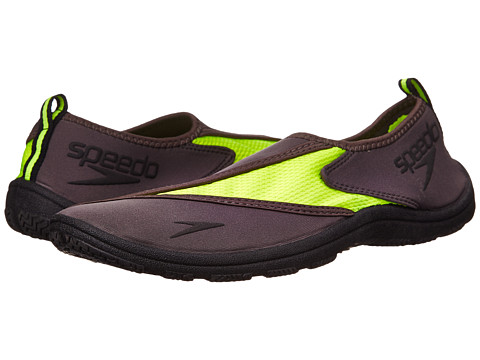 Speedo - Surfwalker 2.0 (Grey/Safety Yellow) Men
