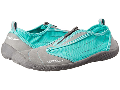 Speedo - Zipwalker 3.0 (Grey/Aqua) Women