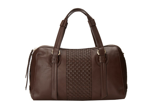 Cole Haan Brennan Satchel (Chestnut) Satchel Handbags