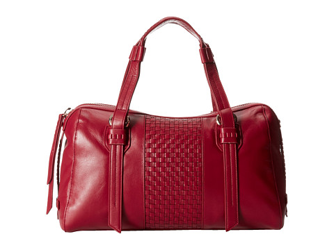 Cole Haan Brennan Satchel (Rouge) Satchel Handbags