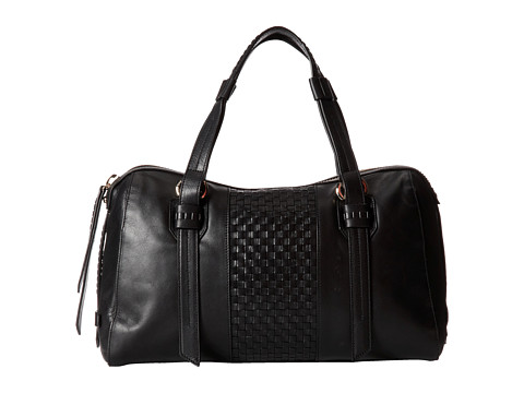 Cole Haan Brennan Satchel (Black) Satchel Handbags