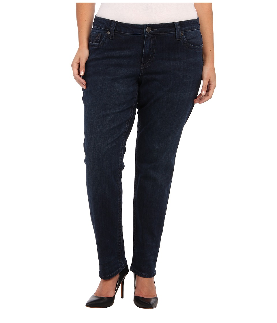 KUT from the Kloth - Plus Size Stevie Straight Leg in Progressive (Progressive) Women's Jeans