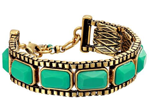 Lucky Brand - Set Stone Bracelet (Gold) Bracelet