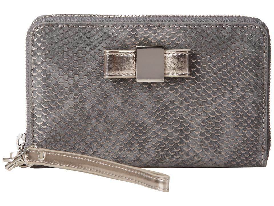 Ivanka Trump - Blair Smartphone Wristlet (Charcoal) Wristlet Handbags