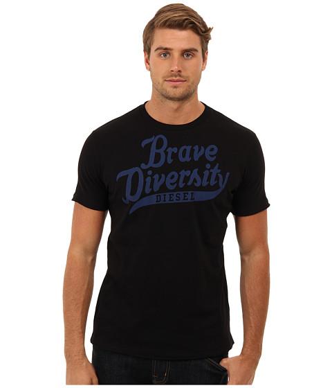 Diesel - T-Brave-Diversity-R T-Shirt (Black) Men