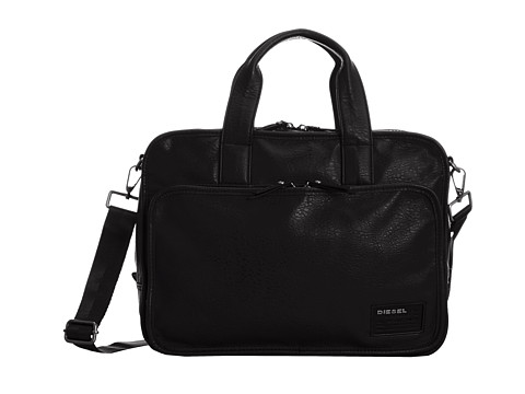 Diesel - City To The Core City Brieff (Black) Briefcase Bags