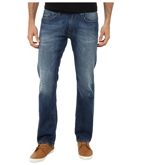 Buffalo David Bitton - Six Basic Indigo in Heavily Stone Wash (Heavily Stone Wash) Men