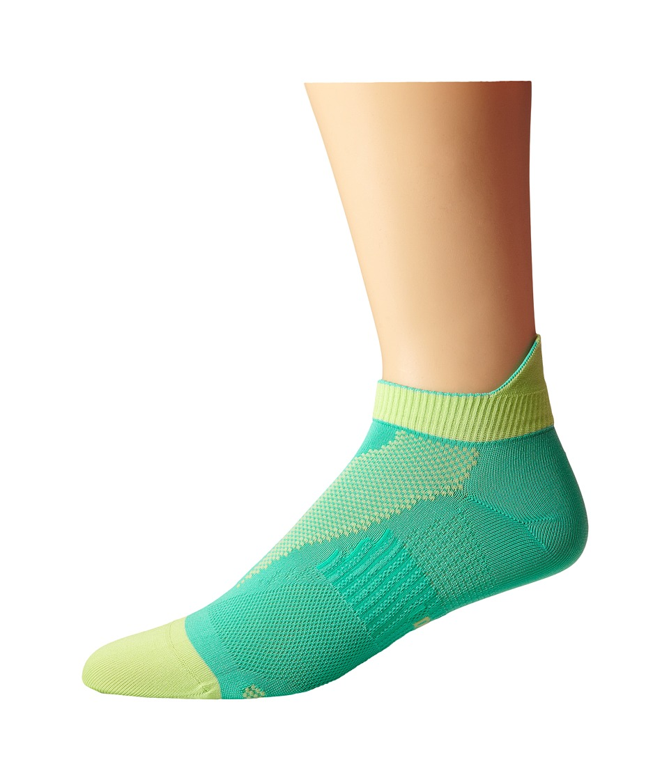Nike - Elite Run Lightweight No Show (Menta/Key Lime/Menta) No Show Socks Shoes