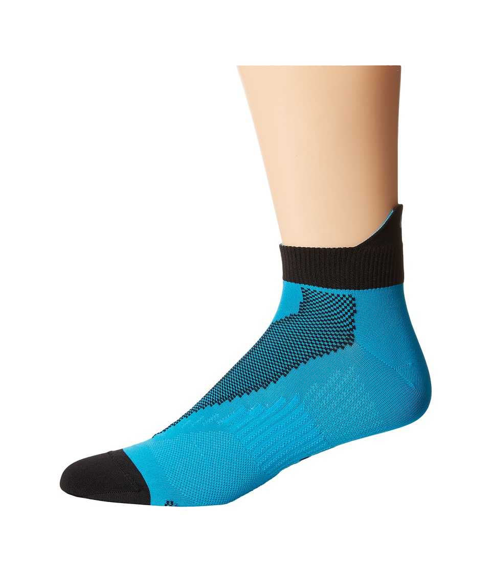 Nike - Elite Run Lightweight No Show (Blue Lagoon/Black/Bllgon) No Show Socks Shoes