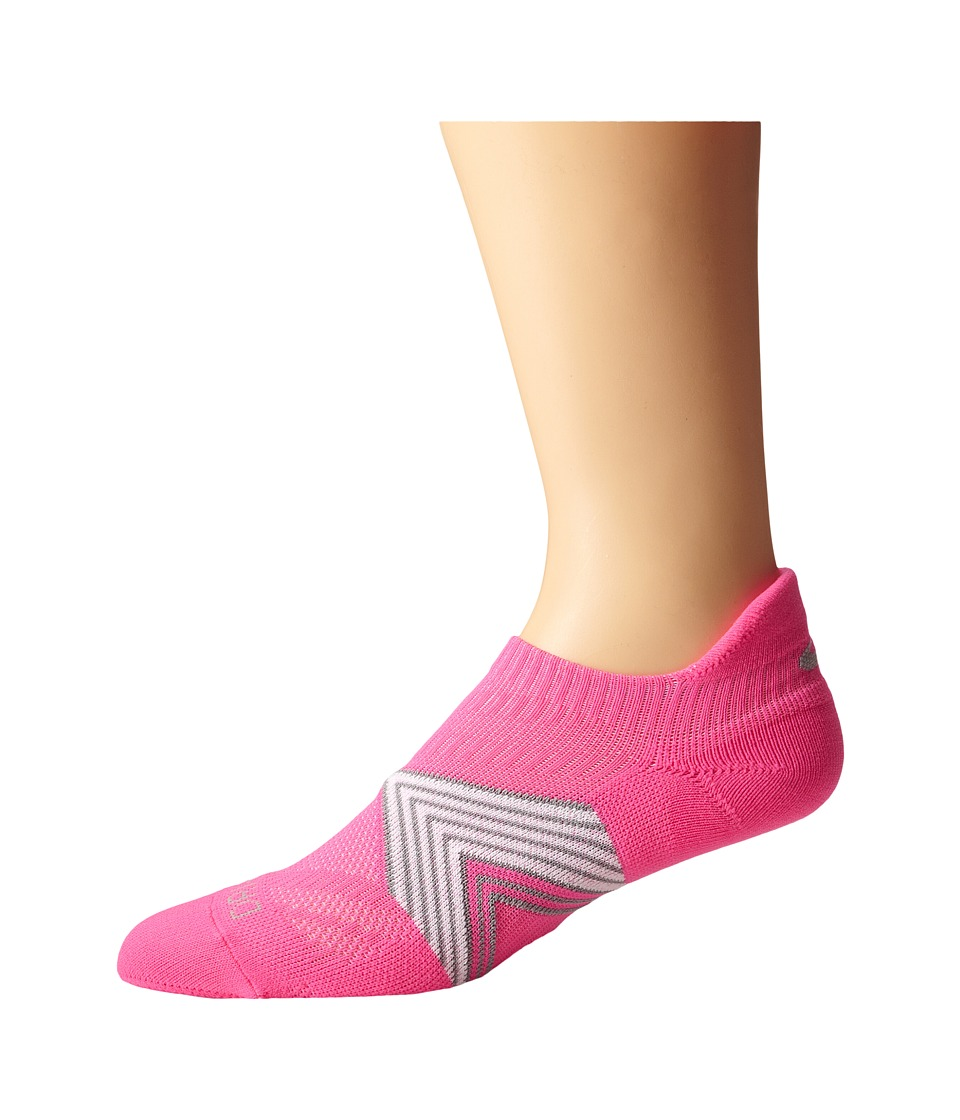 Nike - Dri-Fit Cushioned Dynamic Arch No Show 1-Pair Pack (Pink Pow/Stadium Grey/White/Stadium Grey) No Show Socks Shoes