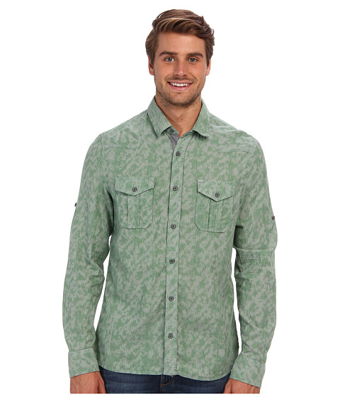 Buffalo David Bitton - Savax L/S Woven Shirt (Mclean Combo) Men's Long Sleeve Button Up
