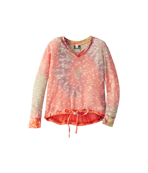 Young Fabulous & Broke Mini - Tumbleweed Sweater (Little Kids/Big Kids) (Berry Twirl) Girl's Long Sleeve Pullover