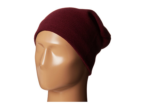 Plush - Fleece-Lined Barca Hat (Bordeaux) Cold Weather Hats