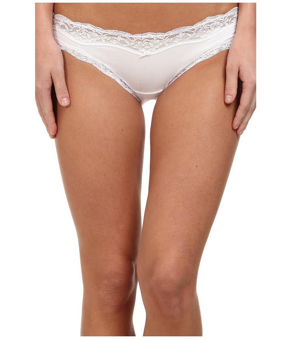 DKNY Intimates - Downtown Cotton Bikini (White) Women's Underwear