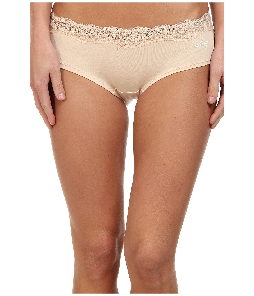 DKNY Intimates - Downtown Cotton Hipster (Pretty Nude) Women's Underwear