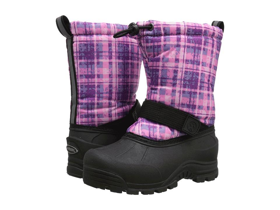 Northside Kids - Frosty (Little Kid/Big Kid) (Purple/Plaid) Girl's Shoes
