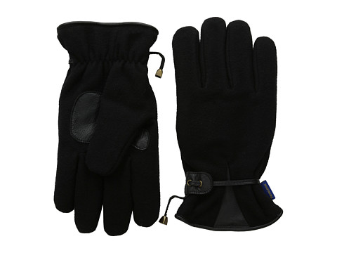 Pendleton - Glove w/ Leather Palm (Black wool suede) Extreme Cold Weather Gloves