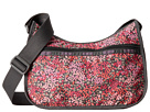 LeSportsac Classic Hobo Bag (Lavender Fields)