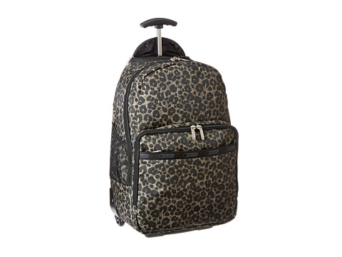 Upc 883681803258 Lesportsac Luggage Rolling Backpack Army Cheetah