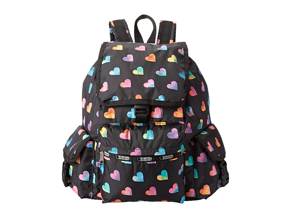 LeSportsac - Voyager Backpack (Wild At Heart) Backpack Bags