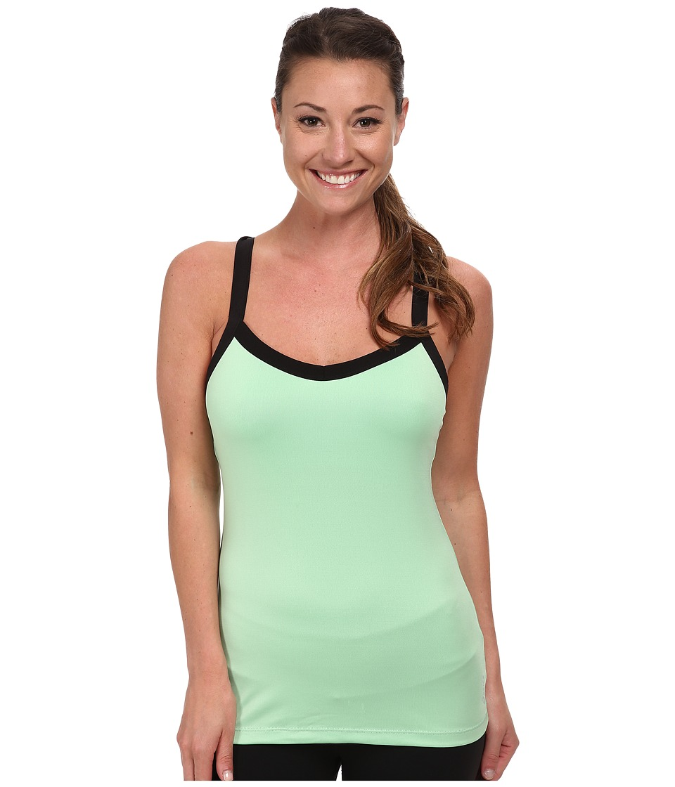 ASICS - Lorynn Tank (Green Ash) Women's Sleeveless