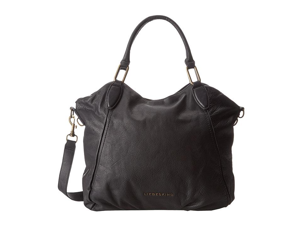 Liebeskind - Vintage Paulette (Black) Handbags