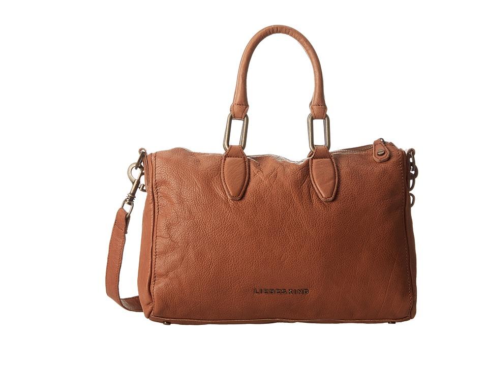 Liebeskind - Vintage Pavla (Cognac) Satchel Handbags
