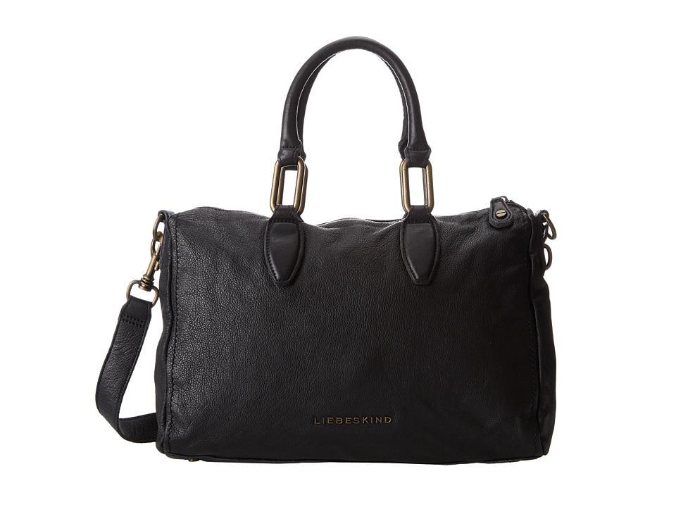 Liebeskind - Vintage Pavla (Black) Satchel Handbags