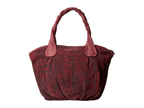 Liebeskind - Suede Lux Guillia (Ruby Red) Tote Handbags