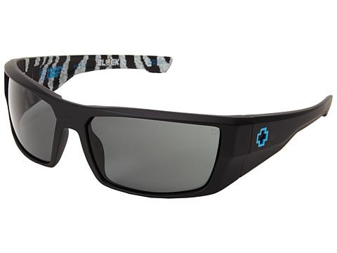Spy Optic - Dirk - Ken Block Livery Series (Matte Black/Happy Grey Green) Sport Sunglasses