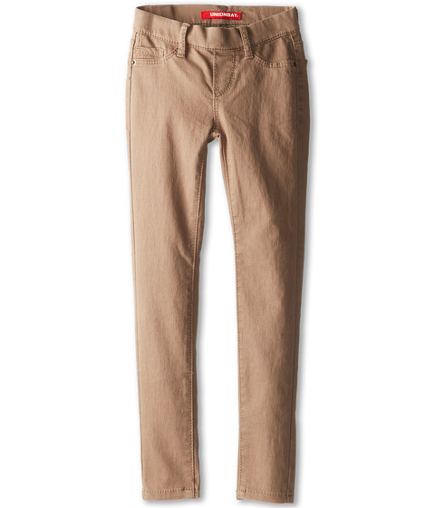 UNIONBAY Kids - Libbie Twill Legging (Big Kids) (Light Walnut) Girl's Casual Pants