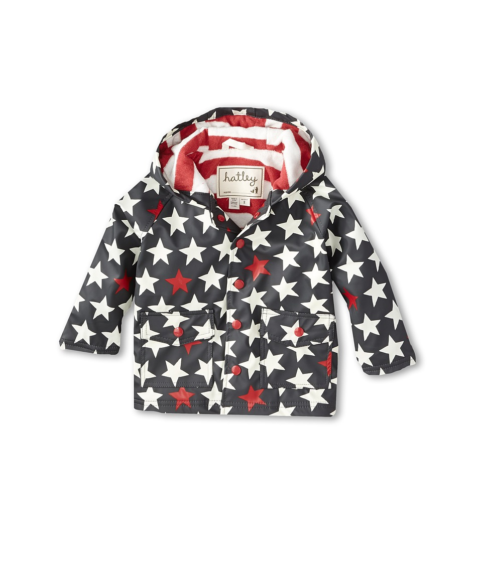 Hatley Kids - Rain Coat (Toddler/Little Kids/Big Kids) (Bright Stars) Boy's Coat