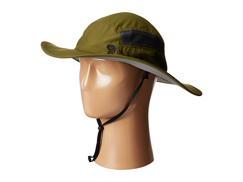 Mountain Hardwear - Canyon Wide Brim Hat (Utility Green) Safari Hats