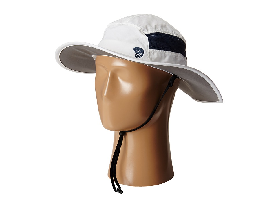 Mountain Hardwear - Canyon Wide Brim Hat (White) Safari Hats