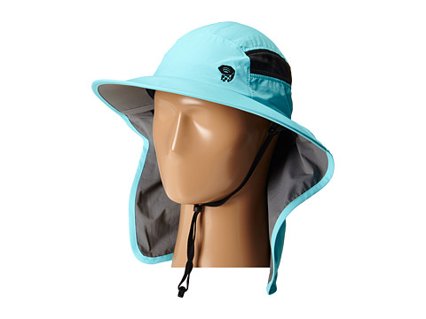 Mountain Hardwear - Canyon Wide Brim Ravi Hat (Coastal Blue) Safari Hats