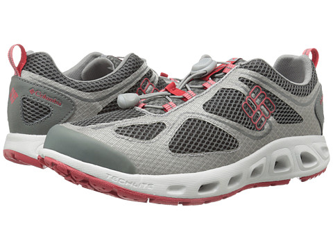Columbia - Powervent (Charcoal/Intense Red) Men's Shoes