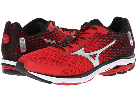 the latest 01e1e af68c UPC 041969496459 - Mizuno Wave Rider 18 (Chinese Red/Silver ...